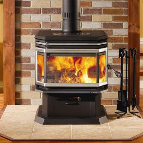 Efficient Wood Burning Stove Osburn 2200 High Efficiency Epa Bay Window Woodburning Stove