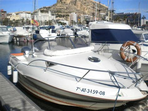 boat cover quicksilver quicksilver 620 cruiser in marina alicante speedboats