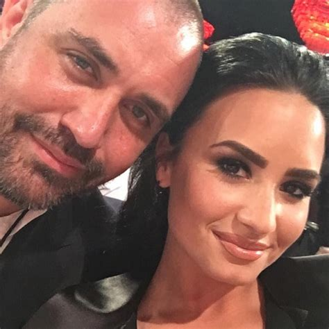 demi lovato and cast centers weho stand out mike bayer and demi lovato s cast centers