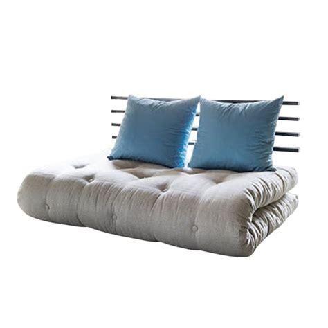 Futon Matratze Kaufen by Schlafsofa Shin Sano Futon Beige Blau Matratze 6 Lagen