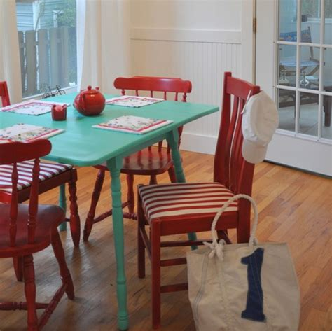 colorful dining room table for your home pleasant