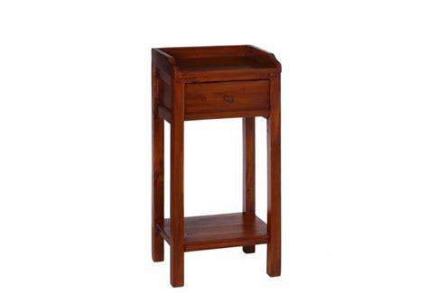Table De Nuit Tiroir by Table De Chevet 1 Tiroir Colonial Acajou 38 X 30 50 X 80