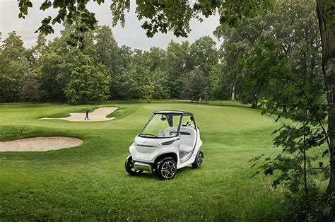 gulf car mercedes introduces luxury golf cart for 19 mph