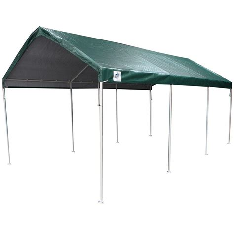 king canopy 10 ft w x 20 ft d 8 leg universal canopy in