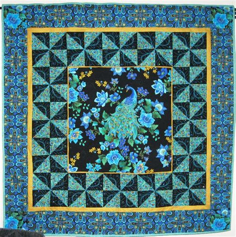 quilt pattern peacock ginnys quilts peacocks take 2