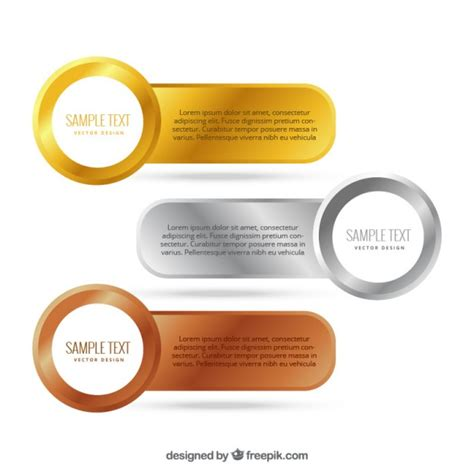 Sponsorship Letter Gold Silver Bronze Gold Silver Bronze Vectors Photos And Psd Files Free