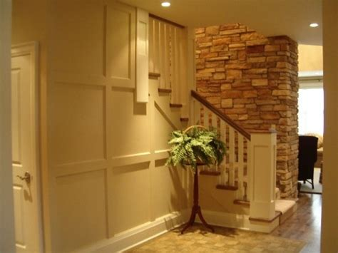 clever  cool basement wall ideas