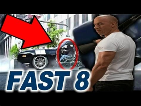 fast and furious mistakes 7 mistakes in fast and furious 8 trailer 2017 youtube