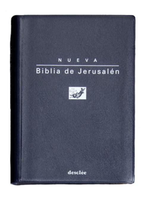 biblia de jerusaln de biblia de jerusal 233 n edici 243 n de bolsillo modelo 0 descl 233 e de brouwer