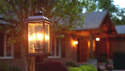 ideas  battery operated outdoor lights home depot