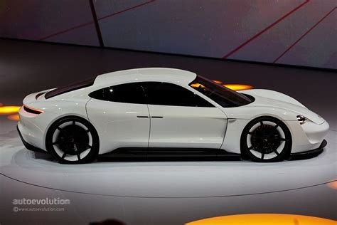 porsche mission  renamed taycan electric car  launch