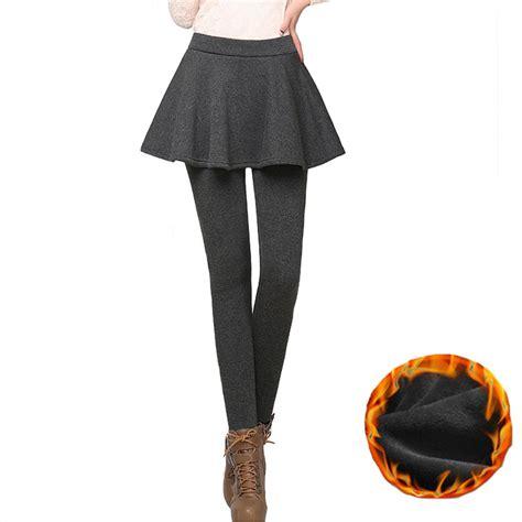 Skirty Legging Xl 4xl plus size winter fittness skirt legging