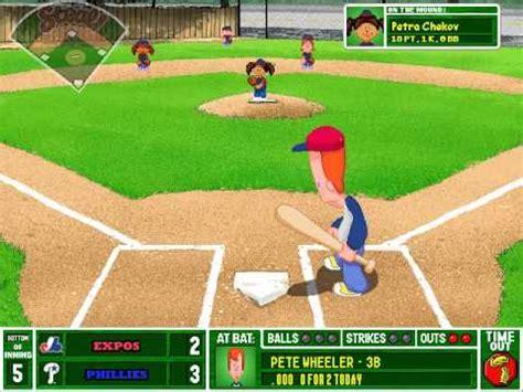 play backyard baseball 2003 online let s play backyard baseball 2003 game 1 philadelphia