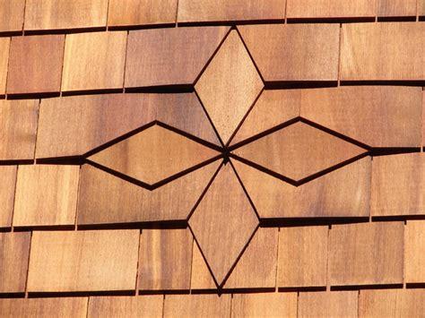 cedar shingle diamond pattern rustic boston