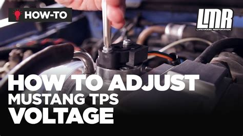 how to install tps mustang tps install how to adjust throttle position