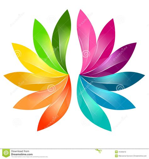 colorful designer colorful abstract floral design stock vector image 41233270