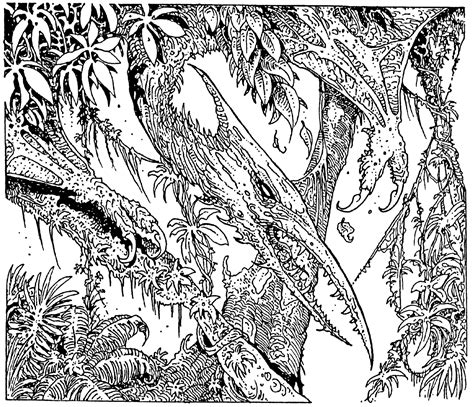 black and white jungle wallpaper the gallery russ nicholson october 2013