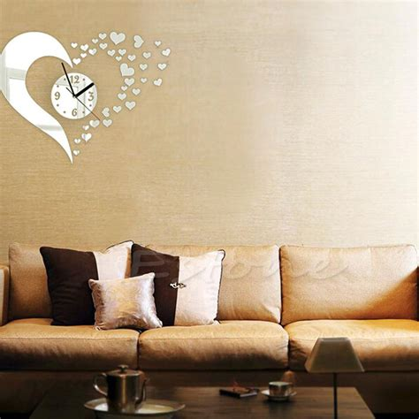 modern wall decals for living room diy 3d home modern decor wall stickers living room love