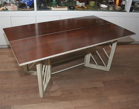 console table used as dining table convertible console and dining table at 1stdibs