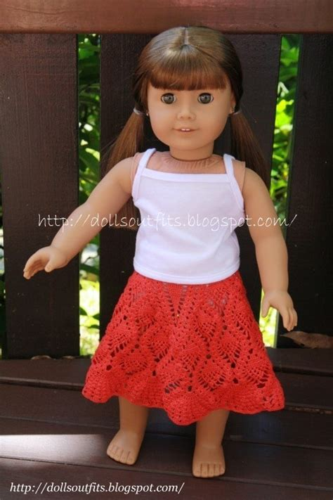 Handmade Clothes Patterns - handmade clothes for dolls crocheted skirt with