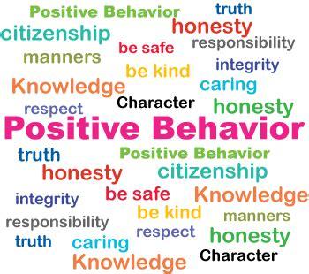 Positive Behaviour positive behavior home
