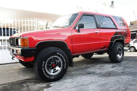 Used Toyota 4runner 4x4 For Sale Find Used Toyota 4runner 1986 4x4 Best In Guadalajara Jal