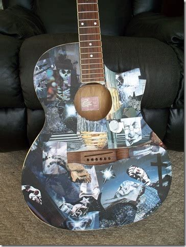 How To Decoupage A Guitar - decoupage guitar by ktmccullough on deviantart