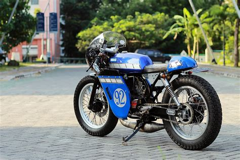 Rx King by Koleksi Modifikasi Motor Rx King Cafe Racer Terbaru Dan