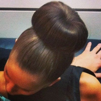 donut bun hairstyle with bangs 157 best buns images on pinterest bread rolls bun