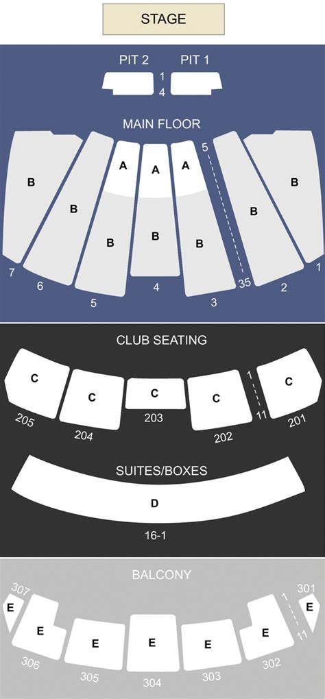 comerica theater seating chart comerica theatre az seating chart stage