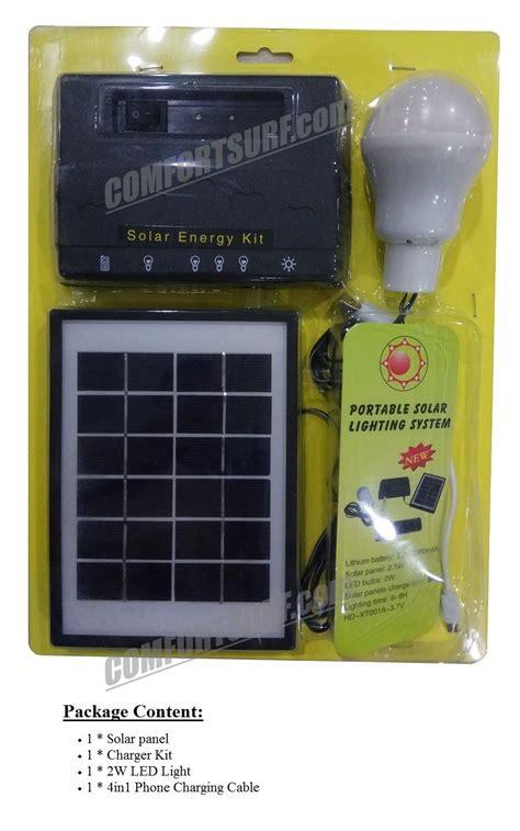 maxsolar sl022 portable solar powered lighting system home