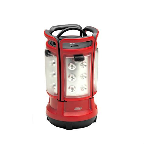 removable led light bar coleman led quad lantern 4 rechargeable removable panels