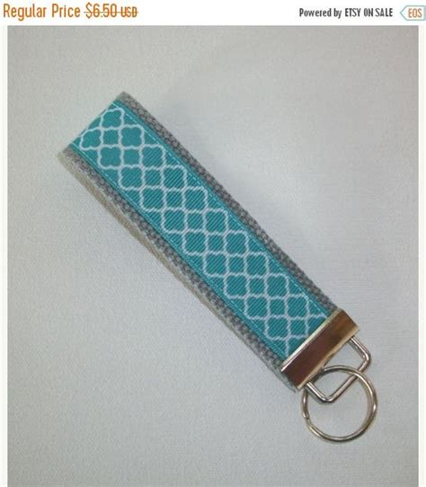 fabric keyring pattern keychain wristlet key fobs and wristlets on pinterest