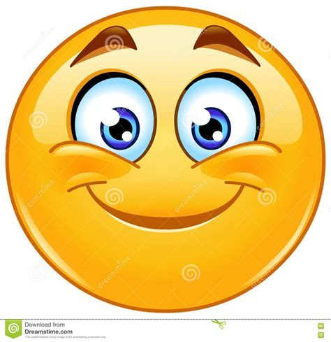 clipart faccine smiling emoticon stock vector illustration of emoji