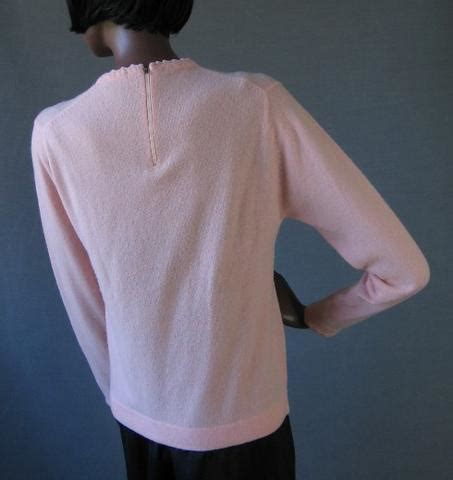 Girly Ls by 60s Vintage Pink Ls Wool Sweater Girly S Mags Rags