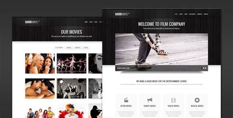 themes in film making goodways entertainment and film wordpress theme by