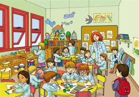 imagenes infantiles niños escuela aula