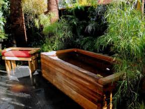 outdoor bathtub design ideas outdoor showers and tubs outdoor spaces