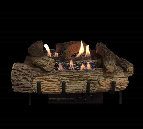 Remote Gas Fireplace Logs by Builders Series 30 Inch Vent Free Gas Log Set Remote Ready