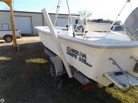 carolina skiff boat only for sale 2007 used carolina skiff 218 dlv center console fishing