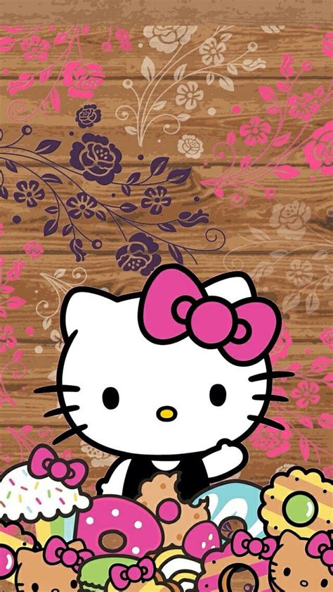 hello kitty leopard wallpaper for android hello kitty ipod wallpapers 75 wallpapers 3d wallpapers