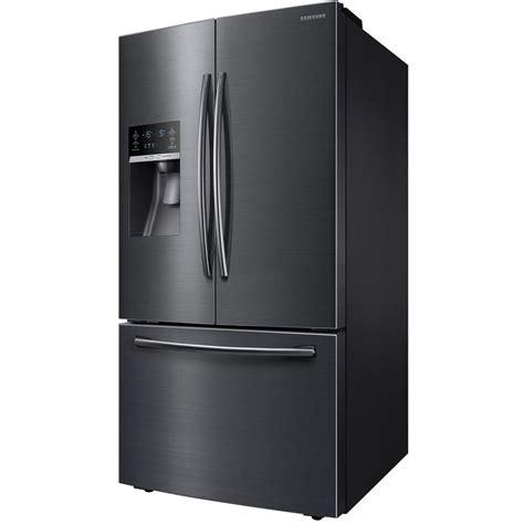 28 cu ft samsung door refrigerator samsung 28 07 cu ft door refrigerator in black