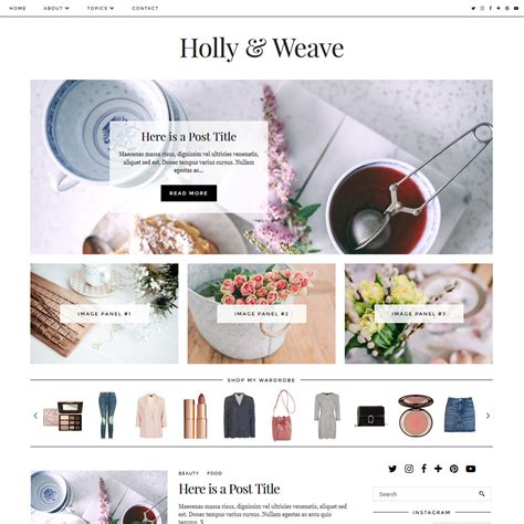 blogger templates for reviews holly weave a classically styled blogger blogspot