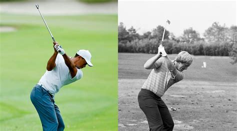 tiger woods swing tips one plane v two plane golf swings what golfmagic