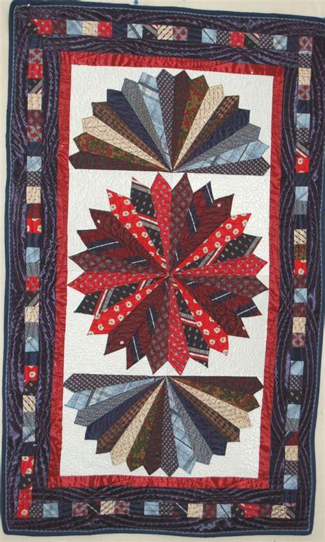 Silk Tie Quilts Patterns by Tie Quilts Rhino Quilting