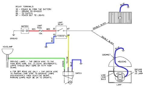 wiring diagram for hella driving lights efcaviation