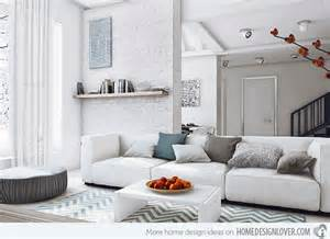 Grey And White Living Room by 15 Modern White And Gray Living Room Ideas Living Room