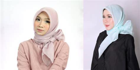 Tutorial Kerudung Organza Mudah   ini lho hijab organza berbahan mirip kaca mengilap yang