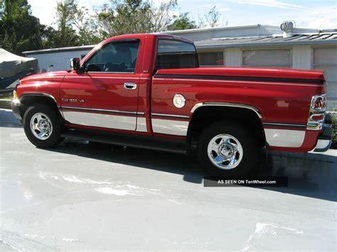 Two Door Trucks by 1996 Dodge Ram 1500 Base Standard Cab 2 Door 5 2l