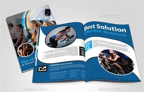 10 Best Sports Brochure Templates To Share Sports Brochure Templates